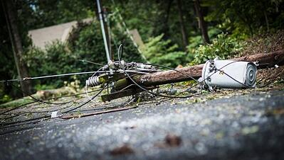 Downed Power Line Image