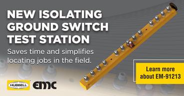 EM-91213 isolating ground switch test station